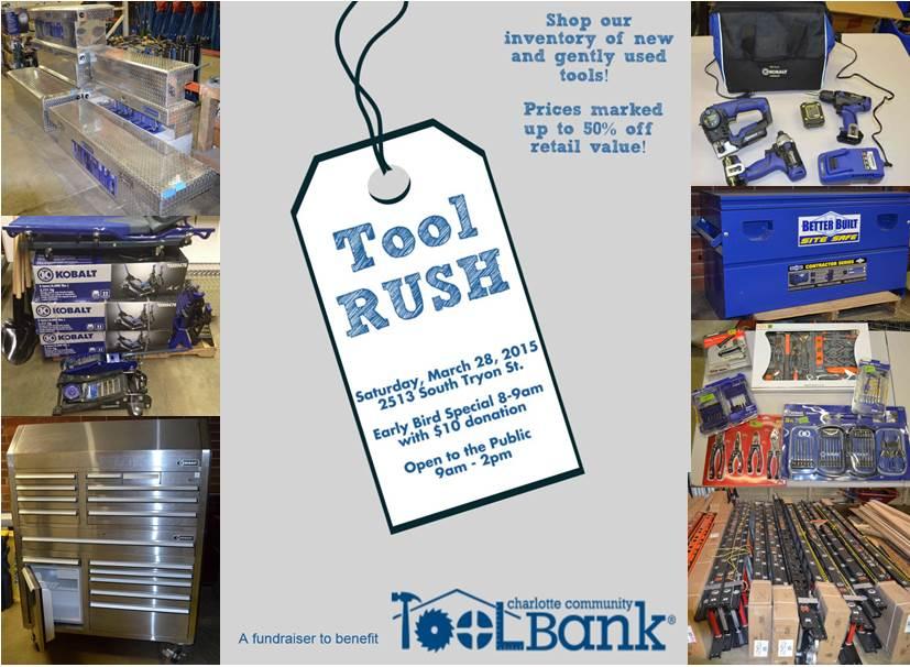 Tool Rush Flyers